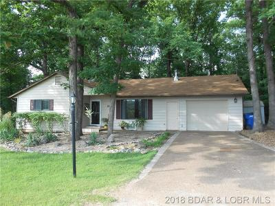 Lake Ozark Single Family Home Contingent: 84 Spring Road
