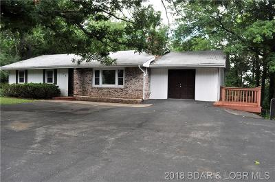 Osage Beach Single Family Home For Sale: 1200 Bluff Drive