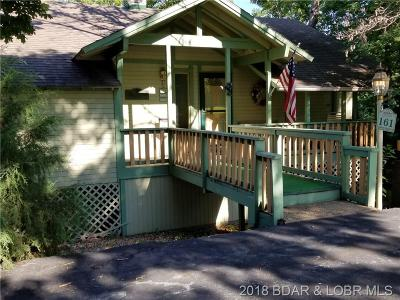 Osage Beach Single Family Home For Sale: 161 Lubbers Quarters