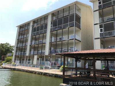 Climax Springs Condo For Sale: 488 Mimosa Beach Drive #3-A