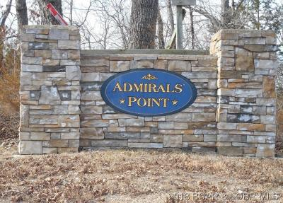 Benton County, Camden County, Cole County, Dallas County, Hickory County, Laclede County, Miller County, Moniteau County, Morgan County, Pulaski County Residential Lots & Land For Sale: Lot 18a Admirals Point