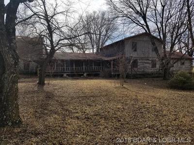 Macks Creek Single Family Home For Sale: 316 East Branch Road