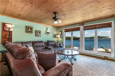 Lake Ozark Single Family Home Contingent: 7 Pleasure Point Circle