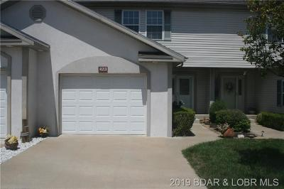 Lake Ozark MO Townhouse/Villas For Sale: $252,900