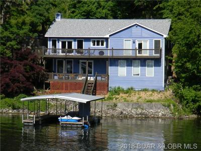 Lake Ozark Single Family Home Contingent: 10 Marsh Lane