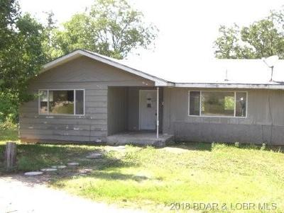Macks Creek Single Family Home For Sale: 15389 U.s. Hwy 54 W