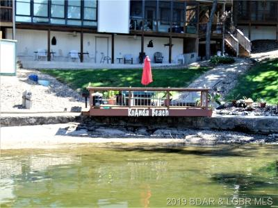 Lake Ozark Condo For Sale: 27 Ro-Anda Beach Drive #1A