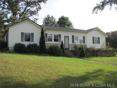Benton County, Camden County, Cole County, Dallas County, Hickory County, Laclede County, Miller County, Moniteau County, Morgan County, Pulaski County Single Family Home For Sale: 12248 Harrison Road
