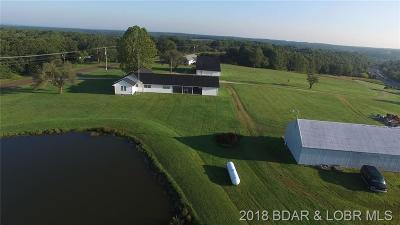 Macks Creek Single Family Home For Sale: 196 Carnahan Road