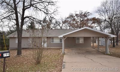 Camdenton Single Family Home For Sale: 199 Lakeview Drive
