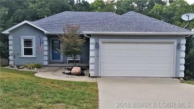 Lake Ozark MO Single Family Home For Sale: $189,000