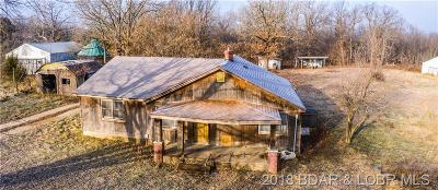 Benton County, Camden County, Cole County, Dallas County, Hickory County, Laclede County, Miller County, Moniteau County, Morgan County, Pulaski County Single Family Home For Sale: 259 Hwy 42