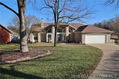 Osage Beach Single Family Home Active Under Contract: 1408 Golfview Lane
