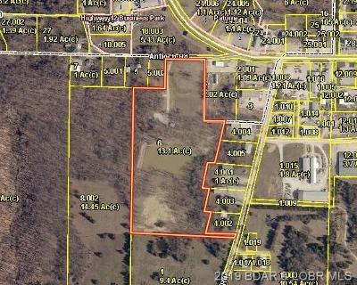 Osage Beach Residential Lots & Land For Sale: 3800 Antioch Road