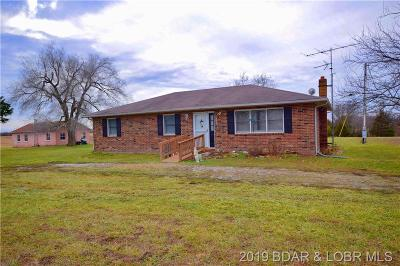 Macks Creek Single Family Home For Sale: 1609 State Hwy 73