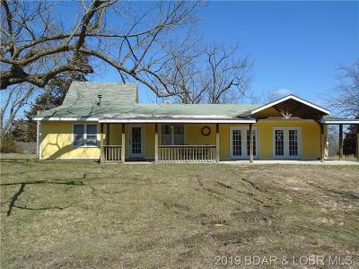 Single Family Home For Sale: 26833 Hwy 135