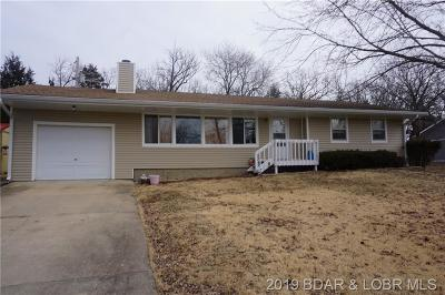 Osage Beach MO Single Family Home For Sale: $147,000