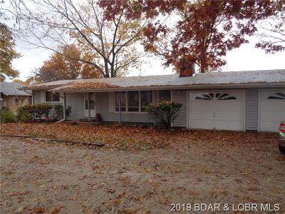 Benton County, Camden County, Cole County, Dallas County, Hickory County, Laclede County, Miller County, Moniteau County, Morgan County, Pulaski County Single Family Home For Sale: 128 Access Drive