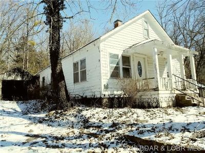 Benton County, Camden County, Cole County, Dallas County, Hickory County, Laclede County, Miller County, Moniteau County, Morgan County, Pulaski County Single Family Home For Sale: 163 Baptist Street