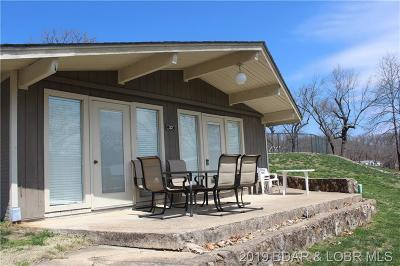 Benton County, Camden County, Cole County, Dallas County, Hickory County, Laclede County, Miller County, Moniteau County, Morgan County, Pulaski County Single Family Home For Sale: 33510 Bass Point Road #22