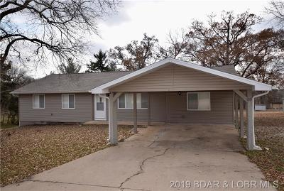 Camdenton Single Family Home Active Under Contract: 199 Lakeview Drive