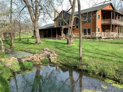 Camden County, Miller County, Morgan County Farm & Ranch For Sale: 867 Nine Springs Ranch Road
