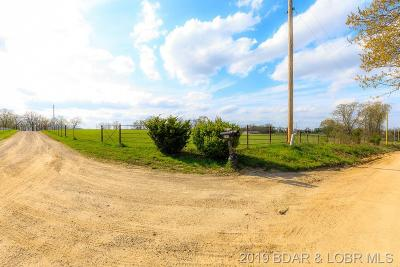 Camden County, Miller County, Morgan County Farm & Ranch For Sale: 295 Witt Road