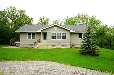 Crocker Single Family Home For Sale: 27760 Hwy U