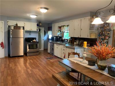 Benton County, Camden County, Cole County, Dallas County, Hickory County, Laclede County, Miller County, Moniteau County, Morgan County, Pulaski County Single Family Home For Sale: 584 School Road