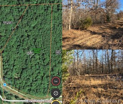 Camdenton Residential Lots & Land Active Under Contract: Tbd Mistwood Hollow Drive
