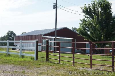 Camden County, Miller County, Morgan County Farm & Ranch For Sale: 476 & 94 Teer Road