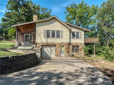 Lake Ozark MO Single Family Home For Sale: $149,000
