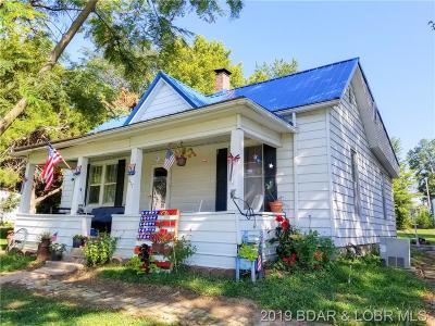 Tipton Single Family Home For Sale: 617 E Morgan St