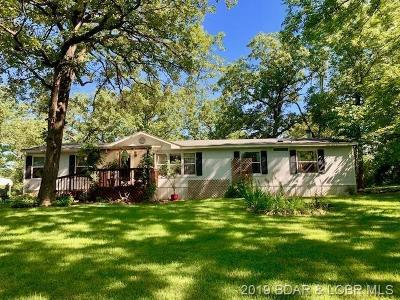 Benton County, Camden County, Cole County, Dallas County, Hickory County, Laclede County, Miller County, Moniteau County, Morgan County, Pulaski County Single Family Home For Sale: 387 Osborn Road
