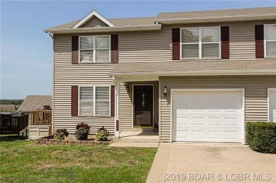 Osage Beach Townhouse For Sale: 1129 Gleenwood Drive