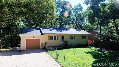 Lake Ozark Single Family Home Active Under Contract: 54 Wood River