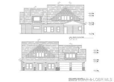 Camdenton Single Family Home For Sale: Lot 103 Lakeside Cross Creek