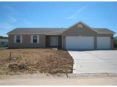 Wright City Single Family Home For Sale: 1 Island Breeze At Falcons Crest