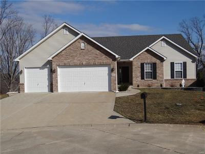 Festus Single Family Home For Sale: Falls@ Ltl Crk-Breckenridge Ii