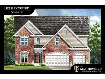 St Charles County Single Family Home For Sale: Haverford-Enclave@ Ridgepointe