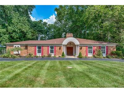 Ladue Single Family Home For Sale: 6 Dogwood Lane