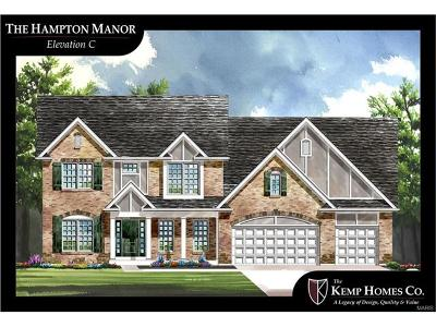 St Charles County Single Family Home For Sale: Hampton -enclave@ Ridgepointe