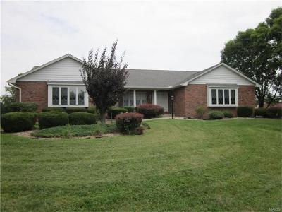 Maryville Single Family Home For Sale: 6443 Illinois Route 162