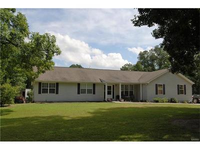 Warrenton Single Family Home For Sale: 21228 Schwerdt Hill Road