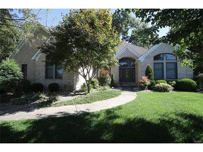 Edwardsville Single Family Home Contingent w/Kickout: 1086 Prestonwood Drive