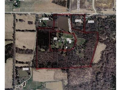 Foristell Farm For Sale: Royal Lake & Scotti Rd