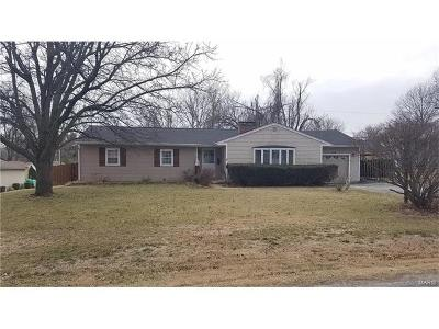 Swansea IL Single Family Home Contingent Short Sale: $79,900