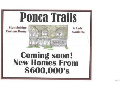 Kirkwood New Construction For Sale: Tbb Ponca Trail