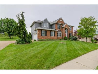 Fairview Heights Single Family Home Contingent No Kickout: 1182 Stonewolf Trail