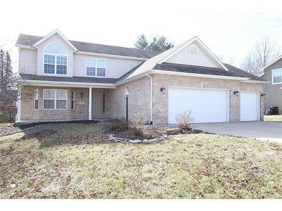 Edwardsville Single Family Home Contingent w/Kickout: 1454 Castle Court